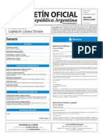Boletín Oficial de la República Argentina, Número 33.460. 13 de septiembre de 2016