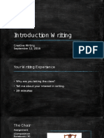 introduction writing 16