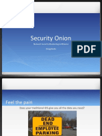 Security Onion Presentation 20111106