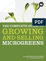 Growing and Selling Microgreens - Local Business Plans