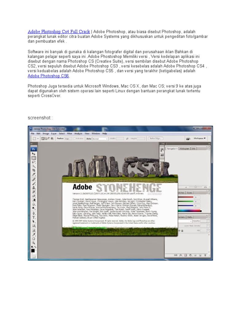 adobe photoshop cs4 crack for mac