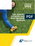 The Australian Fitness Industry Risk Management Manual
