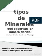 Trabajo de investigacion de minerales minera florida.pptx