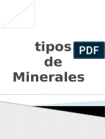 Trabajo de Investigación de Minerales