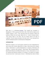 Bata Shoe _introduction