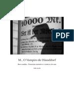 M de Fritz Lang Analise