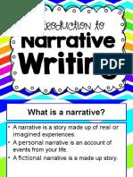 narrative writing2015