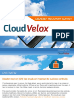 Disaster Recovery Survey July 2015