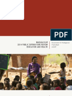 WORLD BANK – UNICEF MADAGASCAR, 2014 Public expenditure review