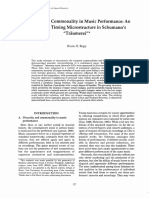 Diversity and Commonality in Music Performance- An Analysis of Timing Microstructure in Schumann's UTraumerei