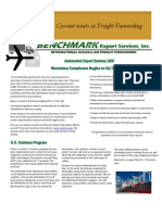 Benchmark Newsletter Volume1 Issue1-international shipping
