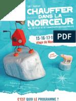 Programmation et animations 18ème Festival
