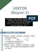 2 Vektor Bagian 2