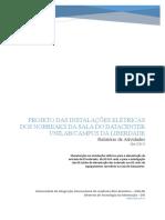 Relatório de Atividades Projeto Das Instalaçoes Elétricas Dos Nobreaks Na Sala Do Datacenter Da DTI v2