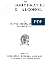 The Carbohydrates and Alcohol - Rideal