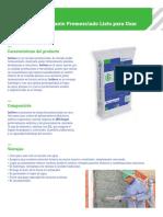 Productos Construccion Isolteco Ficha Tecnica