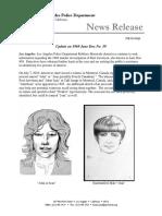 Reet Jurvetson, LAPD update