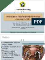 Treatment of Endometriosis in Women Desiring Fertility