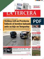 Diario La Tercera 13.09.2016