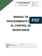Manual de Procedimiento Para El Control de Inventario V1