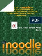 Aplicacion de La Plataforma Moodle en Educacion Alternativa