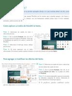 WordArt y Formas