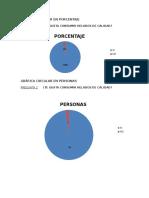 Gráfica Circular en Porcentaje