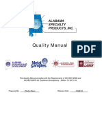 Alabama Quality Manual
