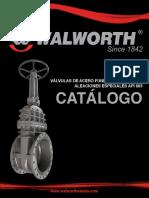 Catalogo Valvulas Acero Fundido Walworth