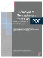 57266014 Removal of Mercaptans