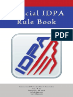official IDPA Rule Book