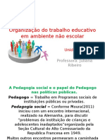Organizacao ...Ambiente Nao Escolar III