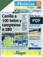 Últimas Noticias Vargas martes 13 septiembre  de  2016
