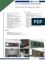 Panel Informativo de Leds Para Estaciones
