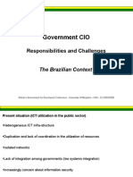 Government CIO - Responsabilities and Challenges -  The Brazilian Context (Washington-DC)