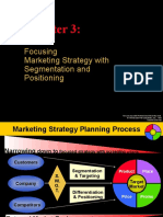 Chapter 3 - Focusing Marketing Strategy With Segmentation and Positioning