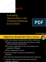 Chapter 4 - Evaluating Opportunities in the Changing Marketing Environment