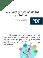 Estructura y función de las proteínas.pptx
