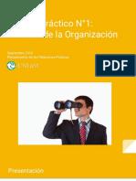 Trabajo Práctico N°1- Analisis de la Organización - Planeamiento RRPP 2016