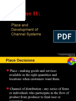 Chapter 11 - Place & Development of Channel Systems