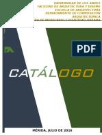 Catálogo de Mobiliarios