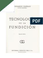 Tecnologia de La Fundicion-Capello