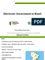 Electronic Government in Brazil - Washington-DC