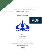 Contoh Proposal Perhitungan Cadangan Hidrokarbon Pada Reservoar X, Cekungan Y