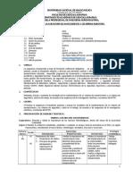 SILABO Mantenimiento y Segurridad Industrial 2016-II Competencia