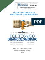 2° ENTREGA PROYECTO GESTION DE INVENTARIOS Y ALMACENAMIENTO oscar.doc