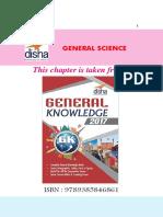 AFCAT GK General Science