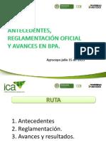 ICA BPA Buenas Practicas Agricolas