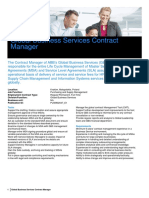 Data Overview - Global Business Services Contract Manager