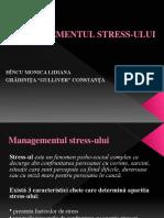Prezentare Managementul Stress Ului